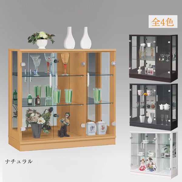 コレクションケース コレクションボード キュリオケース ディスプレイラック ディスプレイ 飾り棚 幅90cm フィギュアラック モダン 完成品 ガラス