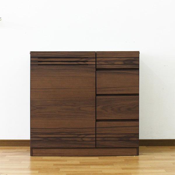 キャビネット サイドボード リビングボード 幅90cm 木製 収納棚 小物収納 おしゃれ 完成品 リビング収納