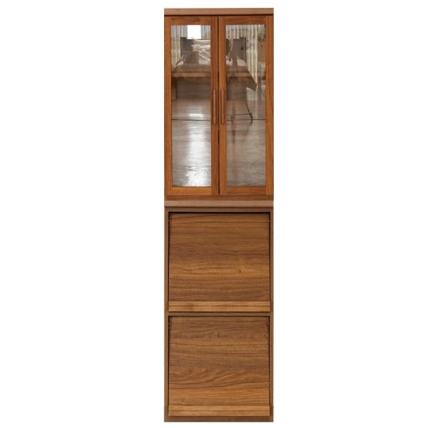 食器棚 ダイニングボード 幅60cm キチンボード キッチン収納 シンプル モダン おしゃれ ブラウン 木製