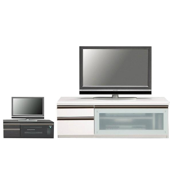 テレビボード テレビ台 ローボード 完成品 幅120cm TV台 TVボード AVボード AV収納 ロータイプ おしゃれ 白 強化ガラス