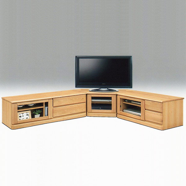 テレビ台 コーナー3点セット ローボード 完成品 テレビボード TV台 TVボード AVボード コーナーテレビボード AV機器収納 AVチェスト リビング 家具 木製