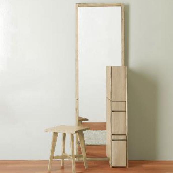 ドレッサー 化粧台 鏡台 姿見 幅55cm シンプル おしゃれ モダン 木製
