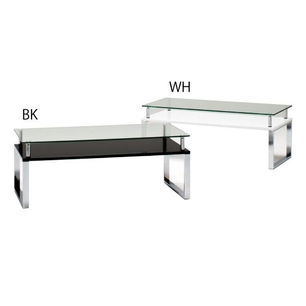 ガラスセンターテーブル センターテーブル ガラス テーブル おしゃれ モダン デザイナーズ 幅90cm ローテーブル 飛散防止 長方形 白