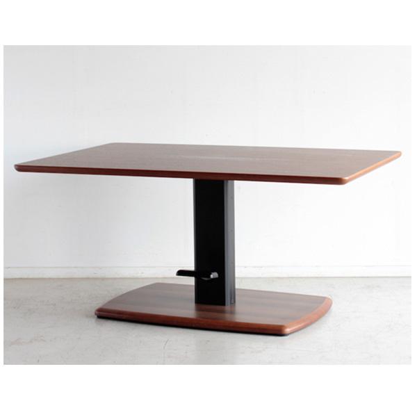 リフティングテーブル 昇降テーブル ダイニングテーブル テーブル 昇降 昇降式 幅120cm シンプル おしゃれ モダン