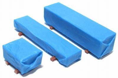 YSK 鉄道模型 Nゲージ カラーレジンキット 1 情景アクセサリー ブルーシート2 ネコポス可 150 返品不可 オリジナル カラーレジン製