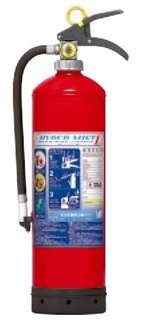 【2019年製 リサイクルシール付】蓄圧式強化液消火器(モリタ宮田工業製)ハイパーミストL LF8