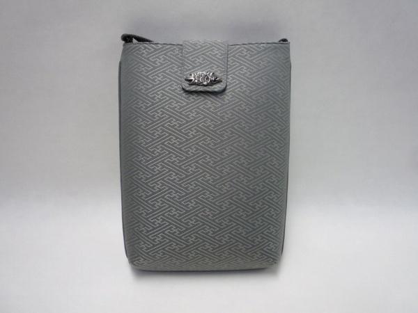 【送料無料】【職人による手作り】【和装バック】信玄袋 法衣用生地使用(正絹)銀色