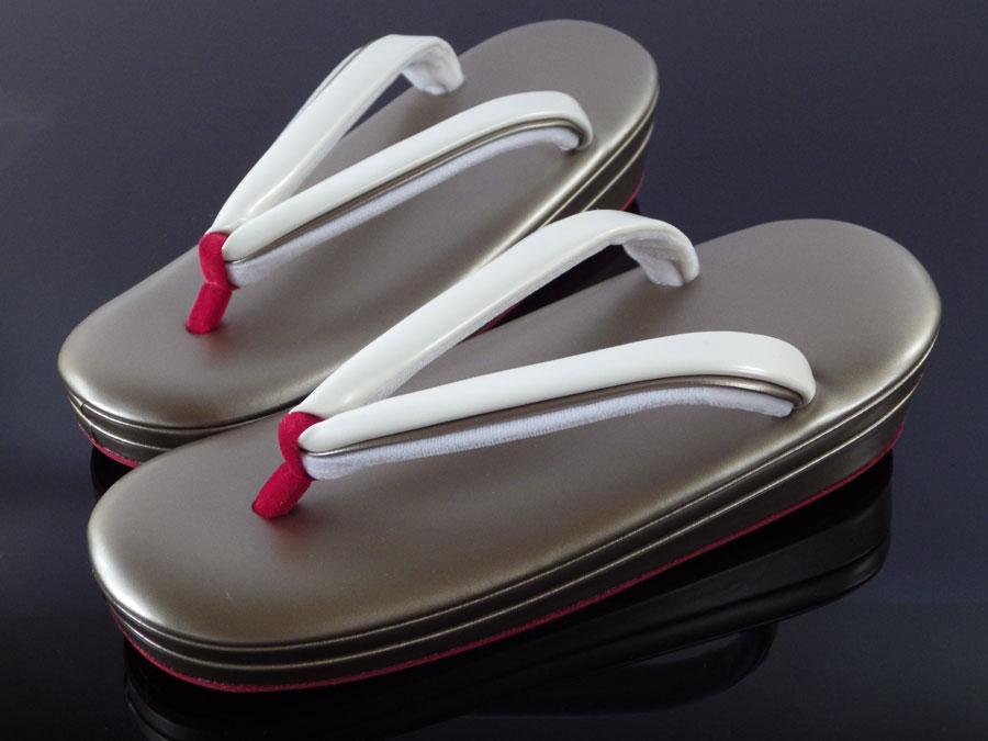 【Mサイズ】草履「赤い前つぼと赤い底の草履」【10P03Dec16】