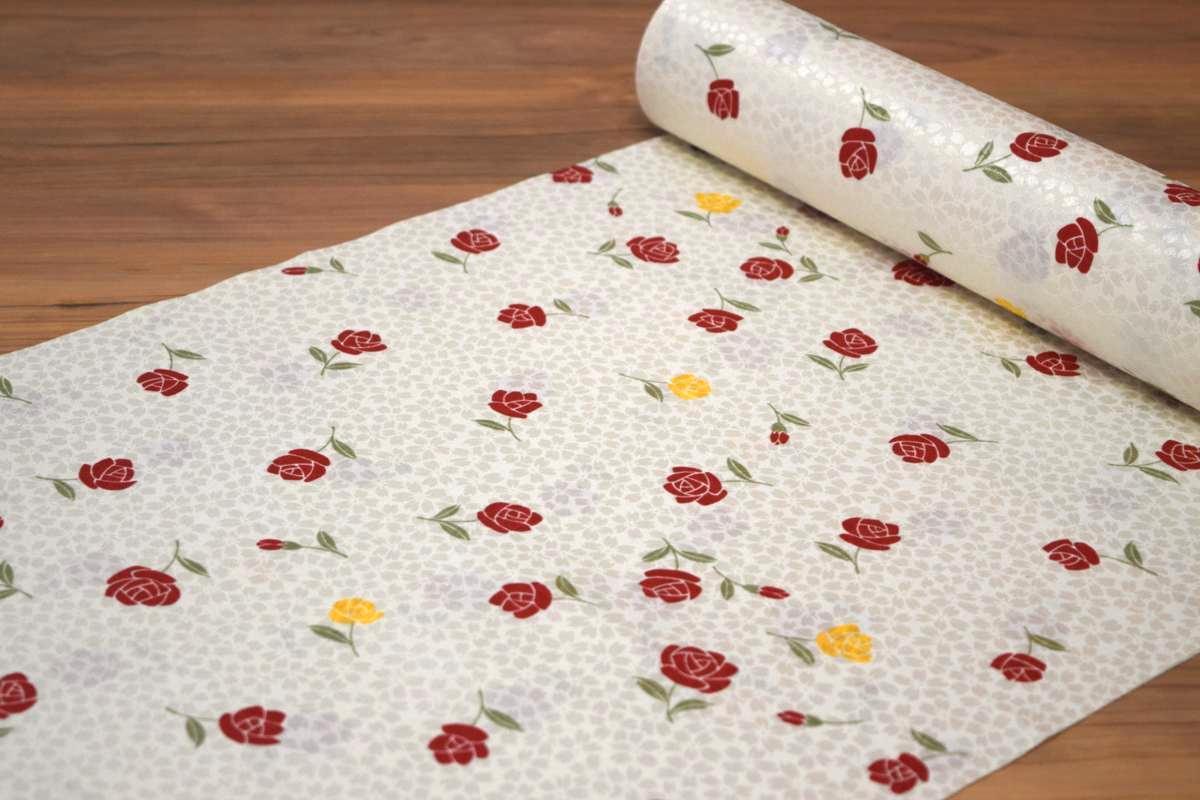 【反物】【紙人形】【洗える長襦袢】「桜の地模様にバラ」【10P03Dec16】