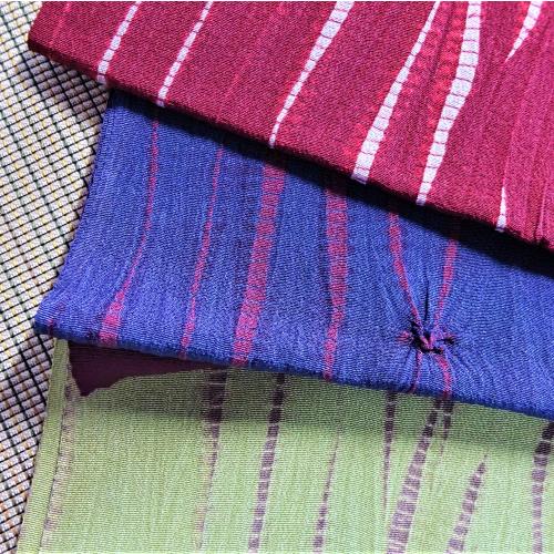 絞り柄帯揚げ 正絹 お洒落 個性的 合わせやすい 絞り柄