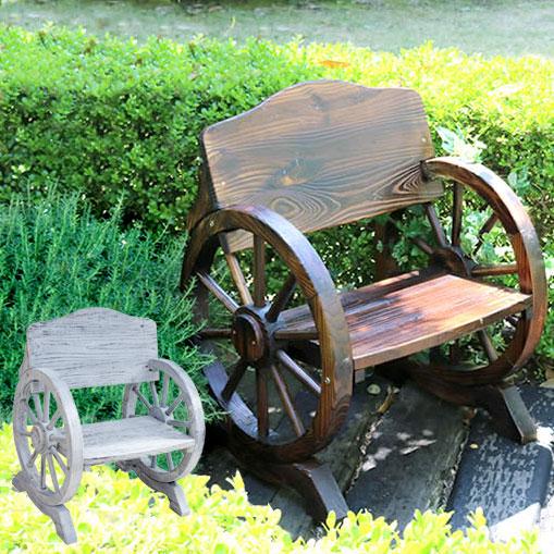木製ベンチ 車輪ベンチ 杉松天然木 幅65.5cm 焼き加工 幅65.5cm 車輪ベンチ ヴィンテージ風ベンチ 屋外用 杉松天然木 WB-650, メナシグン:18846362 --- sunward.msk.ru