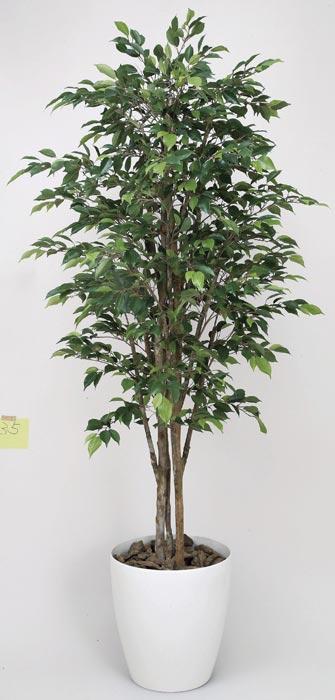 光の楽園 ロイヤルベンジャミン1.6 150G520 2020年版 アートグリーン 人工観葉植物 光触媒