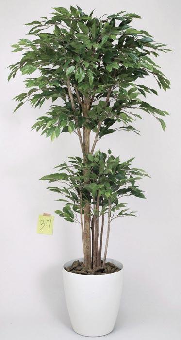 光の楽園 トロピカルベンジャミン1.8 162E520 2019年版 アートグリーン フェイクグリーン 人工観葉植物 光触媒
