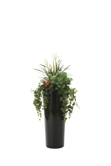 光の楽園 寄セ植エユッカ1.3 727A600 2020年版 アートグリーン 人工観葉植物 光触媒