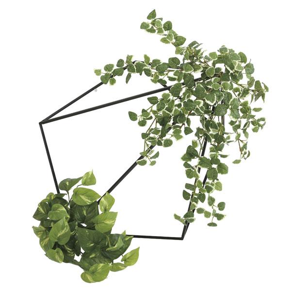 光の楽園 壁面緑化プミラ&ポトス 2000A180 アートグリーン フェイクグリーン 人工観葉植物 光触媒 2020年版