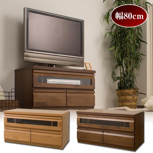 日本製 完成品 テレビ台 アルダー材 ユニット型 テレビボード 幅80cm TV台 組合自在 TE-0022/TE-0025