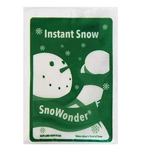 2020モデル 年間定番 SnoWonder スノーパウダー 人工雪 インスタントスノー 約1リットル 水を入れるだけ簡単