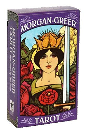 タロットカード US Games Systems 上品 正規販売店 モーガン グリア キャンペーンもお見逃しなく タロット English Deck Tarot Morgan 占い 英語 Greer
