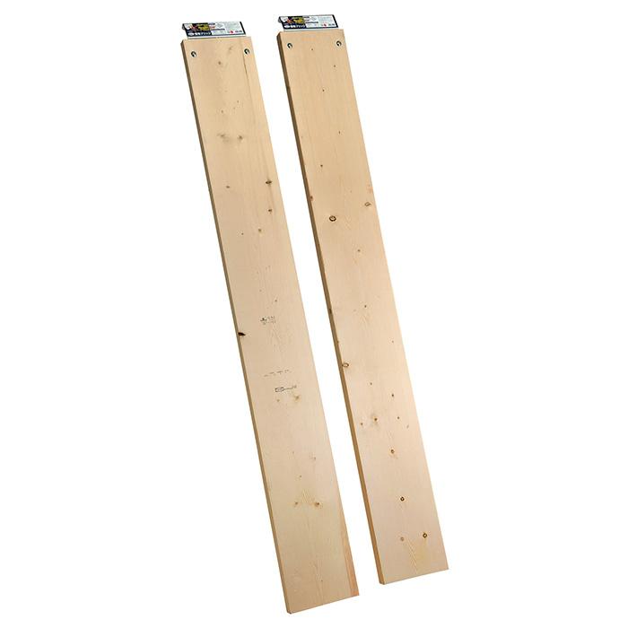 簡易ブリッジ木板付(2枚セット) 農業 用具 工具 家庭菜園 収穫 刃物 浅野木工所 浅野木工所