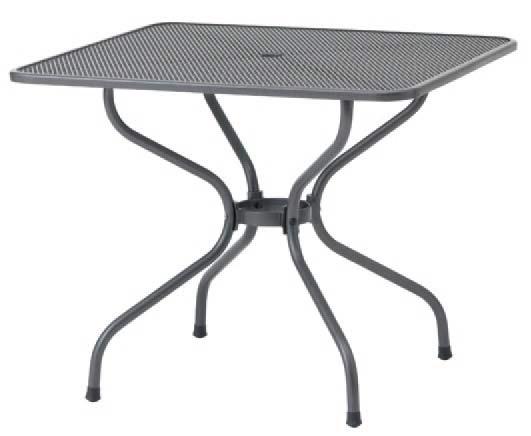 【タカショー】メタルワーク フォーガーデン メタル スクエアテーブル 900(角テーブル)お庭 や テラス でカフェ気分!高品質な の ガーデンファニチャー をお求めやすい価格で!【送料無料】