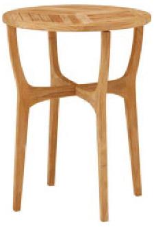 【ガーデンファニチャー】天然木(チーク) ロータステーブル60(丸テーブル)お庭 や テラス で アウトドア 気分!高品質な タカショー の ウッド ガーデンテーブル をお求めやすい価格で!【送料無料】
