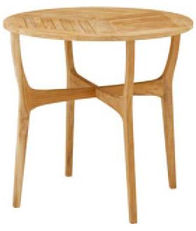 【ガーデンファニチャー】天然木(チーク) ロータステーブル80(丸テーブル)お庭 や テラス で アウトドア 気分!高品質な タカショー の ウッド ガーデンテーブル をお求めやすい価格で!【送料無料】