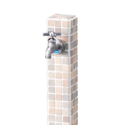 【立水栓ユニット】モゼック(シャーベット) お庭 や テラス におしゃれな立水栓!高品質な ニッコー の 立水栓ユニット をお求めやすい価格で!
