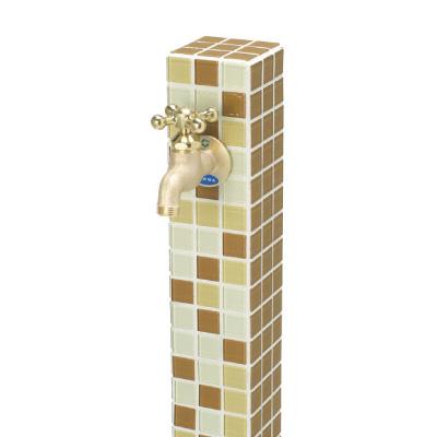 【立水栓ユニット】モゼック(ブラウンミック) お庭 や テラス におしゃれな立水栓!高品質な ニッコー の 立水栓ユニット をお求めやすい価格で!