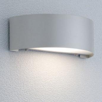 【エクステリア 照明】ポージィウォールライトLED(led) 門灯(壁付け) 【100V照明】 色:シルバー表札を美しく照らし出す LED(led) ライト はユニソンの 表札灯 がオススメ!お求めやすい価格で【送料無料】