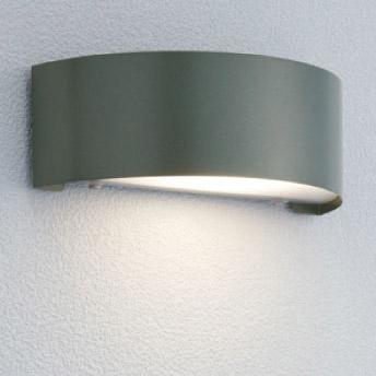 【エクステリア 照明】ポージィウォールライトLED(led) 門灯(壁付け) 【100V照明】 色:アイビーグレー表札を美しく照らし出す LED(led) ライト はユニソンの 表札灯 がオススメ!お求めやすい価格で【送料無料】