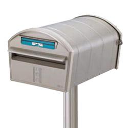 【郵便ポスト】エクスポスト アメリカンタイプ W1型 セキュリティ仕様 ポール 建て TOEX(リクシル)前入れ後ろ出し ポスト 郵便受け アメリカンポスト(スタンドタイプ) 新聞受け ポスト 郵便|郵便受け箱 壁掛けポスト おしゃれ 回覧板【送料無料】