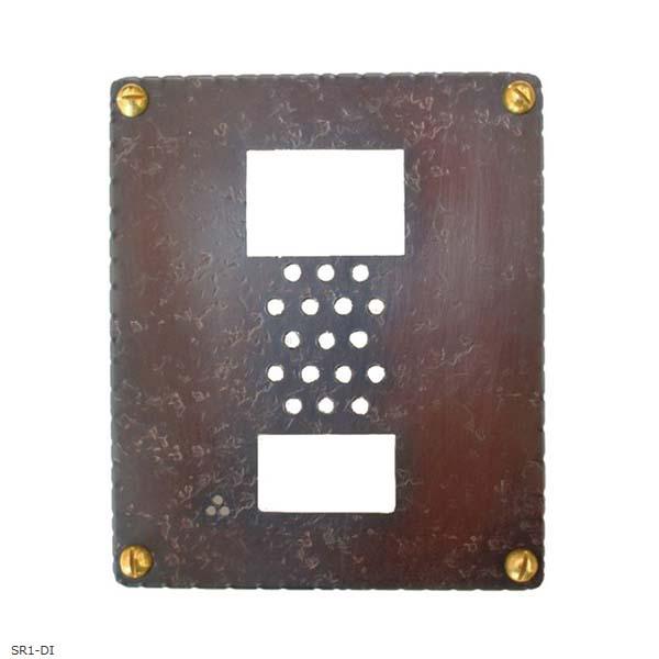 【インターホン飾り】銅製インターホンカバーインターホン飾り 装飾 飾り インターホン装飾【送料無料】