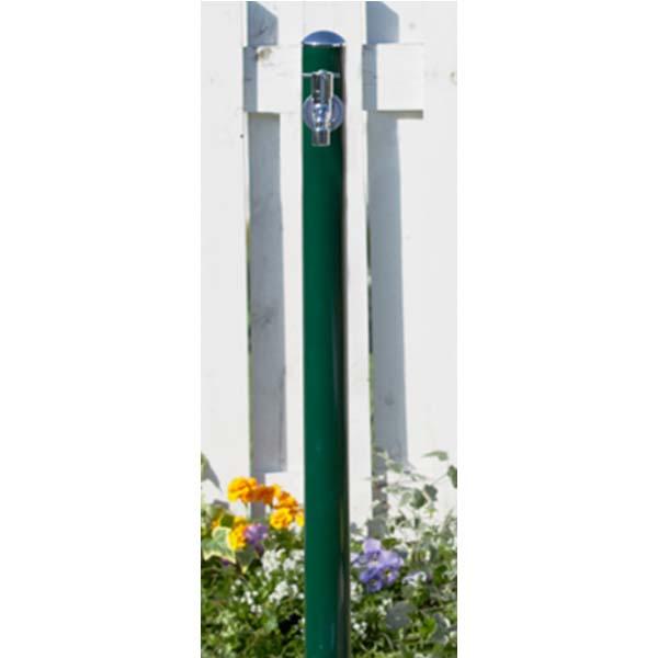 【立水栓】コルム (水栓柱+蛇口) 色:グリーン1口水栓 お庭 や エントランス に シンプル で スマート な フォルム の 水栓柱 を お求めやすい価格で!【送料無料】