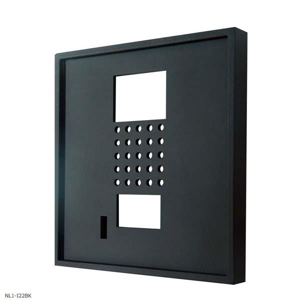 【インターホンカバー】アイアンインターホンカバー 色:黒艶消しインターホン飾り 装飾 飾り インターホン装飾【送料無料】