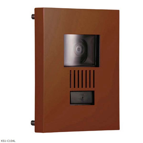 【インターホン飾り】インターホンカバー ミュール 色:ブラウンインターホン飾り 装飾 飾り インターホン装飾【送料無料】