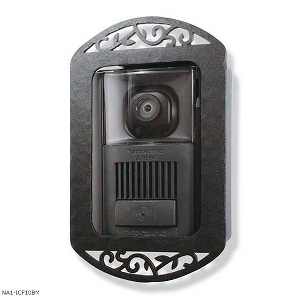 【インターホン飾り】インターホンカバー Type-10 色:ブラックマットインターホン飾り 装飾 飾り インターホン装飾【送料無料】