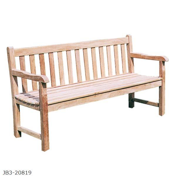 【ガーデンファニチャー】ウッディファニチャー ウイディリーベンチ お庭 や テラス でカフェ気分! チークの風合い が 肌に優しい ガーデンベンチ をお求めやすい価格で!【送料無料】