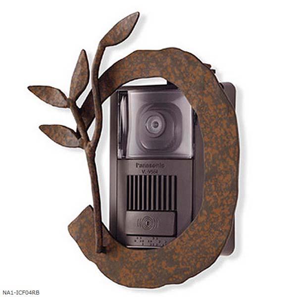 【インターホン飾り】インターホンカバー Type-4 色:ルストブラウンインターホン飾り 装飾 飾り インターホン装飾【送料無料】