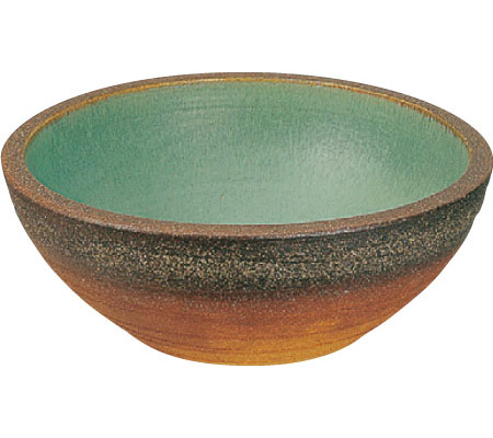 【水鉢】陶芸ポット 若草 (目皿付き) 信楽 の 技術 で 再現された ユニソン の 水鉢(ポット)を お求めやすい価格で!【送料無料】