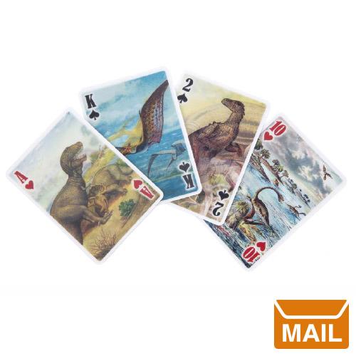 トランプ 恐竜 イラスト 珍しい コレクション / カタカタ動く恐竜だらけのダイナソートランプ。 動く プレゼント おもしろ雑貨 【 メール便 】 トランプ カード 恐竜 きょうりゅう 3D ダイナソープレイングカード dinosaur Cards 【 KIKKERLAND/キッカーランド 】 カード 好き プレゼント  / WakuWaku