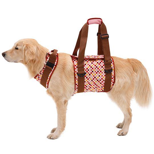 学生服の「トンボ」が犬用歩行補助ハーネスを開発しました。 犬 歩行補助ハーネス 介護 ハーネス 胴輪 LaLaWalk ララウォーク 大型犬用 ピンク×ブラウン SS/S/M/L/LL イヌ 老犬 介護用品 散歩 大型 ドッグハーネス 介護用 補助器具 ハーネス リード 歩行補助 胴輪 ボクサー シベリアンハスキー ラブラドールレトリーバー 犬用