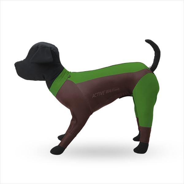 犬服 撥水性とストレッチ性の高い高機能ドギースーツ Matcha マッチャ ドッグウェア ペット服 犬の服 レインコート レインウェア 雨 犬 大型犬