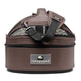 【犬 キャリーバッグ 人気 猫】 Sleepypod スリーピーポッド・ミニ (ダークチョコ) キャリーバック犬 旅行 猫 キャリーバック 旅行 ペットキャリーバッグ 人気 キャリーケース ハウス ドライブ 防災 お出かけ小型犬用, PARTYMIX:9ce65c65 --- per-ros.com