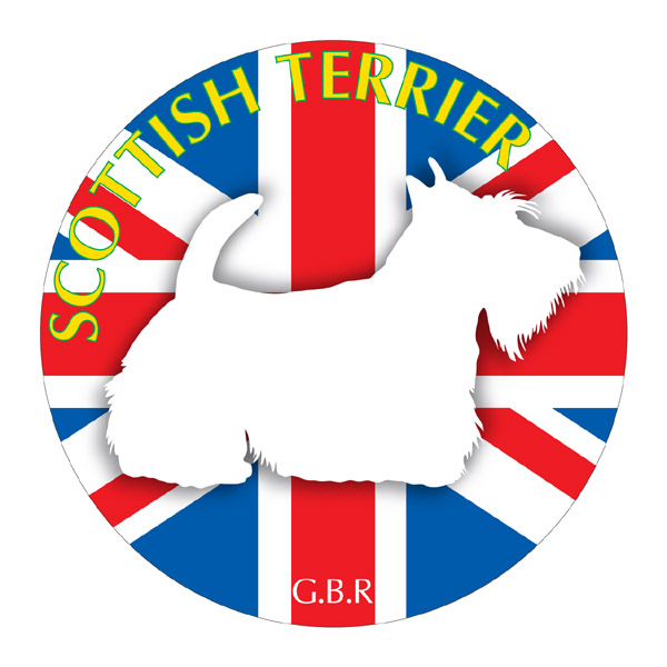 犬の産出国の国旗がバックでカッコいい スコティッシュテリア グッズ ステッカーまる 新作送料無料 《Sサイズ 3枚セット 》 ステッカー シール デカール 輸入 シルエット スーツケース リア カー 給油口 イヌ 影 犬 バイク 車 いぬ アクセサリー