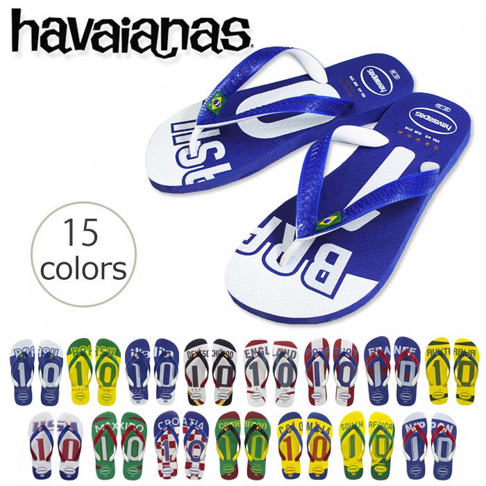 havaianas TEAMS The World's Best Rubber Flip Flops