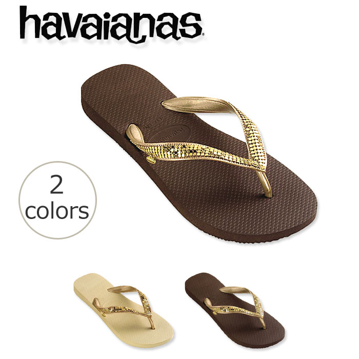 9c34ccc76deb04 Beach sandal havaianas metal mesh gold (METAL MESH GOLD) Lady s woman  business