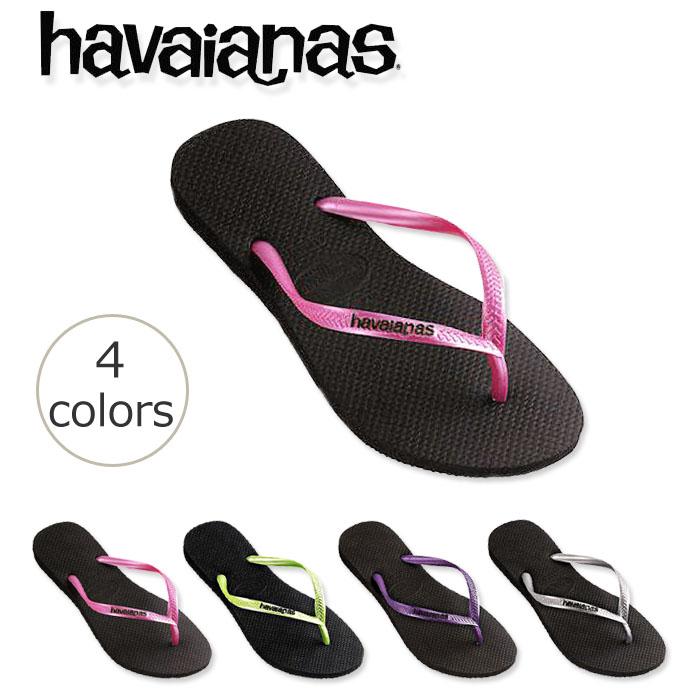b4a01dfe8 Highlight contrast lining strap Beach Sandals King Havaianas SLIM LOGO POP- UP (popup スリムロゴ) women s sleek
