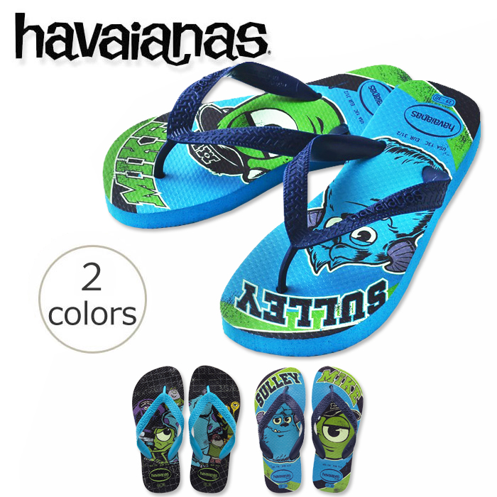 48c0ef0db9e36 ★ havaianas disney kids monsters ink (KIDS MONSTERS INC) kids child latest  for beach sandal 2,014 years