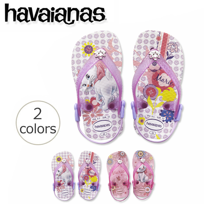 c802f85e350 Rubber Forest Flip Flops Store  ☆ havaianas disney baby Mary (BABY ...
