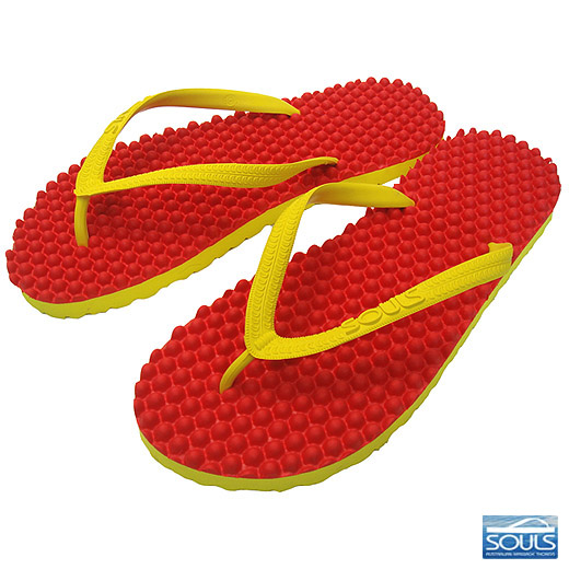 Beach sandal foot sole massage effect immensely Australia massage Sandals Souls ( souls ) summer saver unisex
